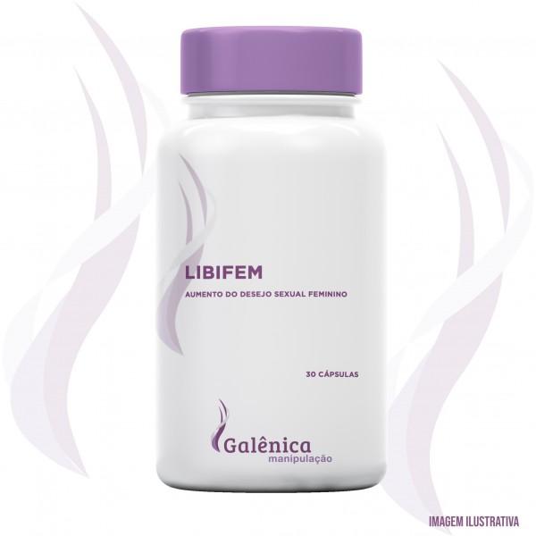 Libifem - Aumento do desejo sexual feminino - 300mg - 30 cápsulas
