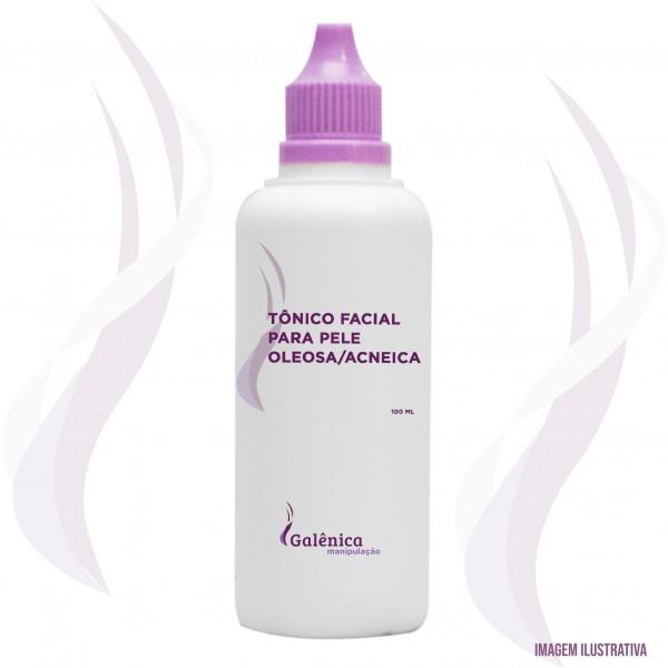 Tônico facial para pele oleosa/acneica - 100ml
